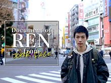 Document of REN from JOKER×FACE