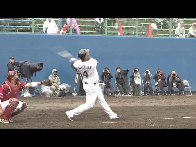 【オープン戦】2月24日 対 楽天 ハイライト