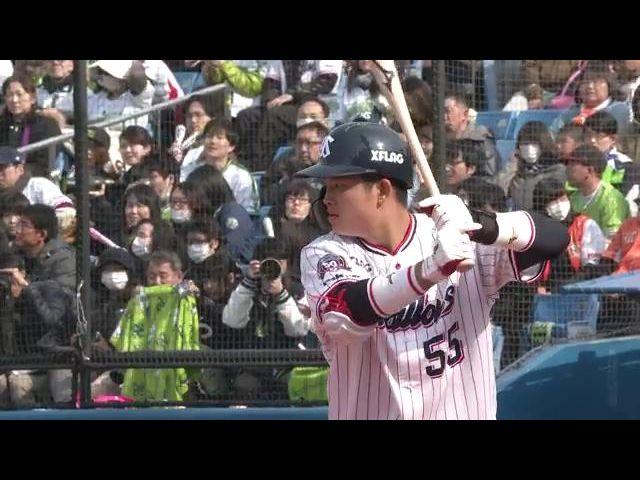 【オープン戦】3月16日 対 巨人 ハイライト