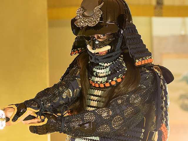 #27 甲冑:浅井長政/鎧美女:大貫彩香