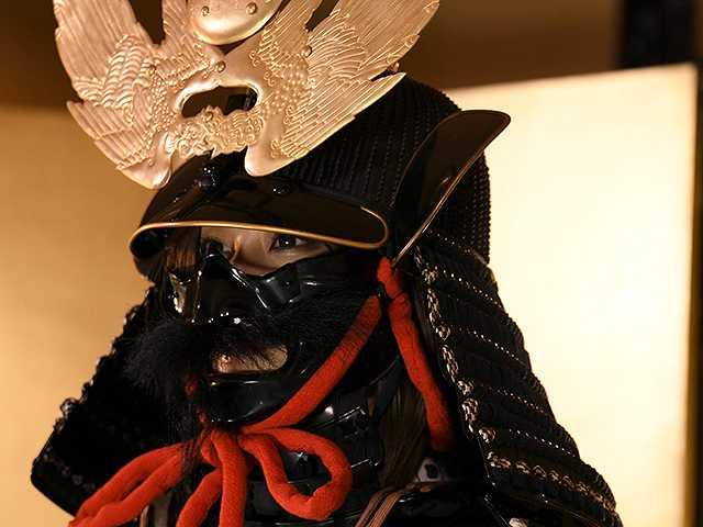 #50 甲冑:上杉景勝/美女:野田彩加