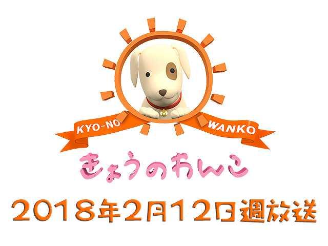 【無料】2018/2/12週放送 きょうのわんこ