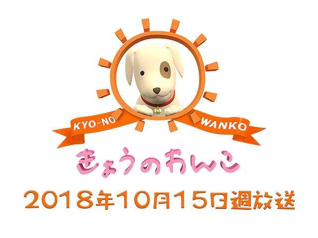 【無料】2018/10/15週放送 きょうのわんこ