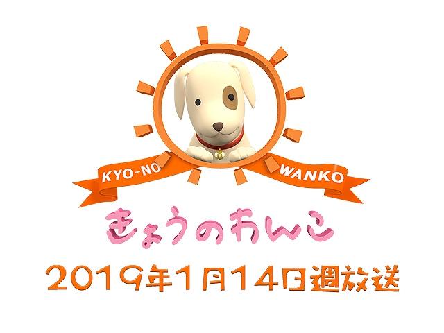【無料】2019/1/14週放送 きょうのわんこ