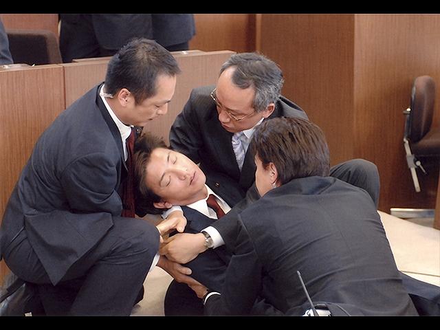 【無料】#9 衝撃!!総理倒れる