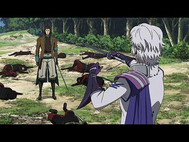 第12話 蒼紅決死戦!激闘の果てに吹く風の音よ!!