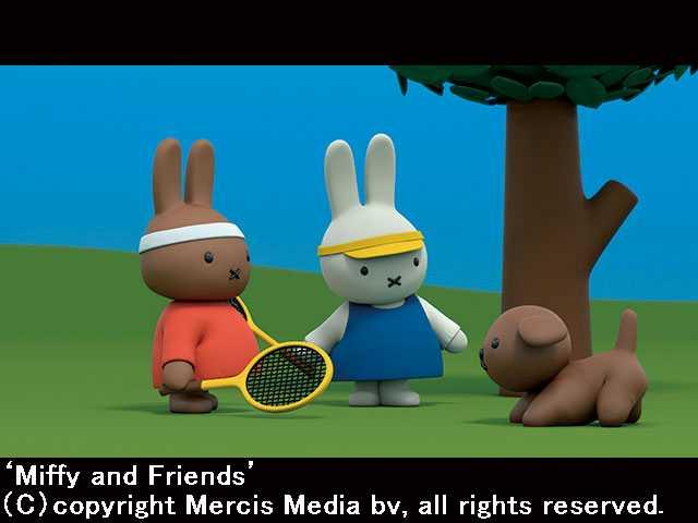 #5 (日本語吹替版)ミッフィーとテニス
