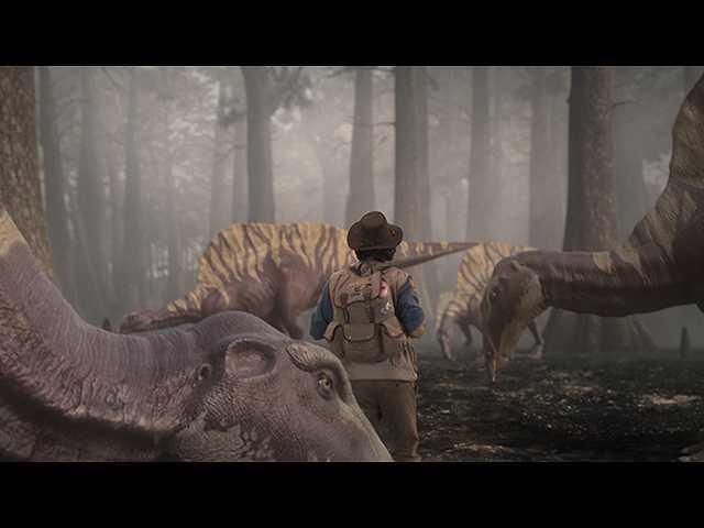 第7話 (日本語吹替版)1億年前 スピノサウルスと3D…