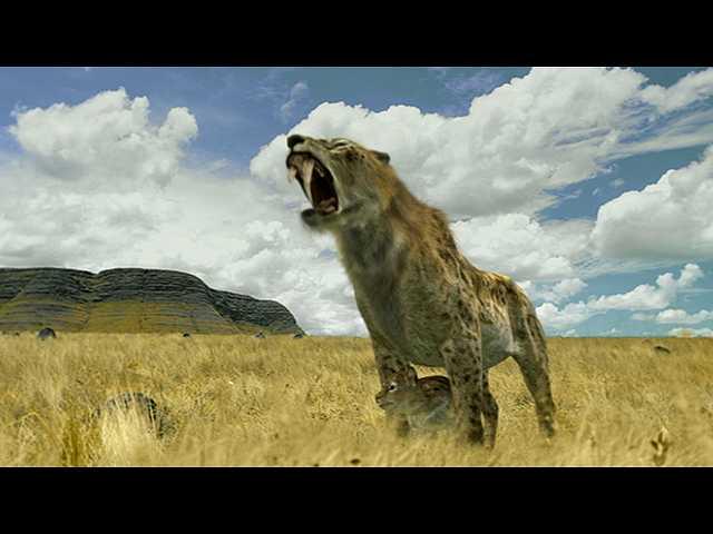 第11話 (日本語吹替版)250万年前 サーベルタイガー…