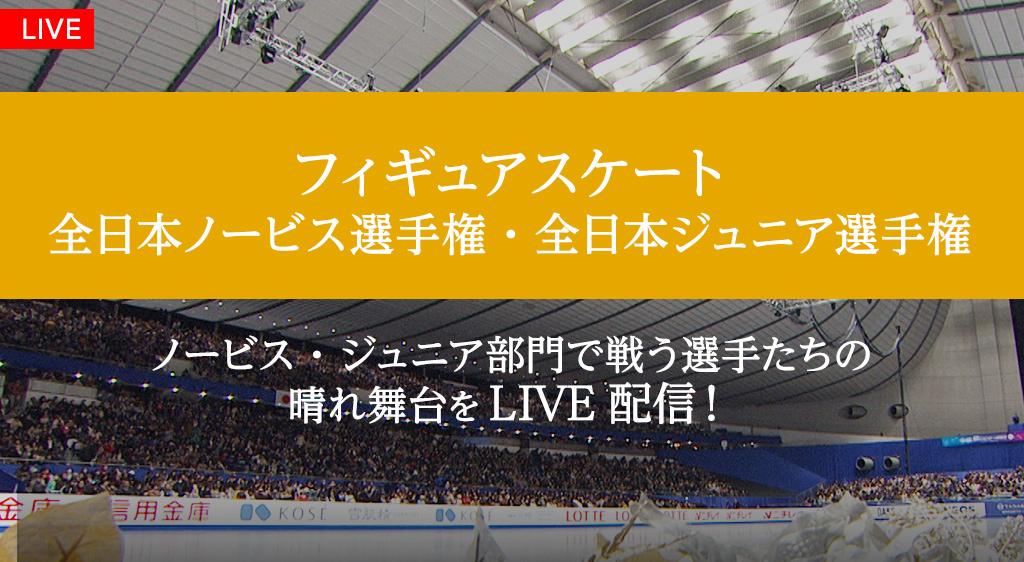全日本ノービス選手権・全日本ジュニア選手権
