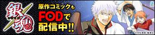 銀魂 原作コミックもFODで配信中!