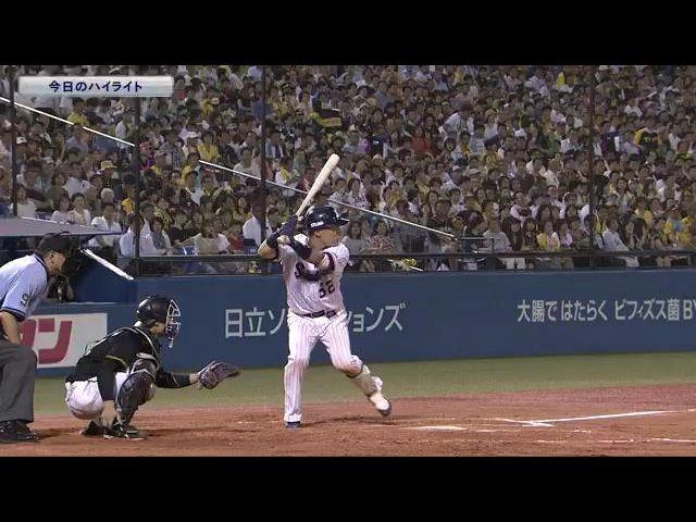 【公式戦】8月6日 対 阪神 ハイライト