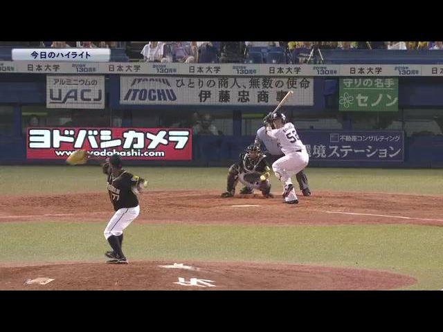 【公式戦】8月25日 対 阪神 ハイライト