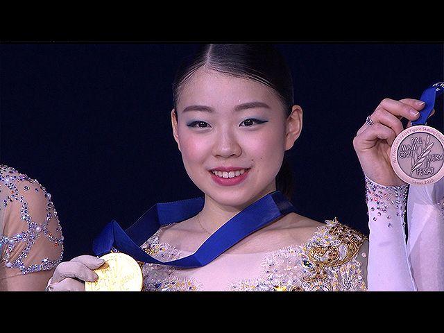 #7 紀平梨花 四大陸選手権2020 ドキュメント