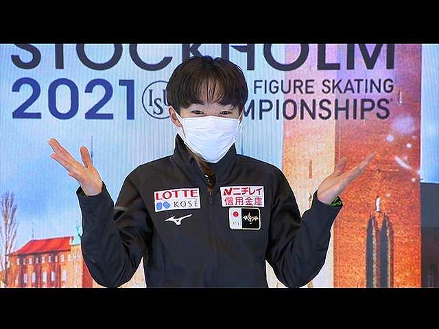 #15 鍵山優真 世界選手権 ドキュメント