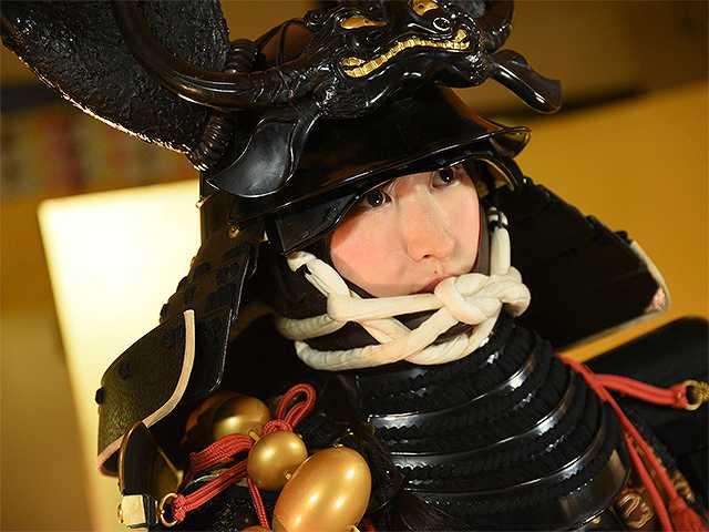 #42 甲冑:本多忠勝/美女:如月さや