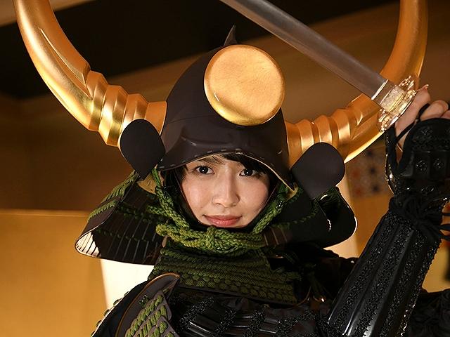#49 甲冑:福島正則/美女:あいみ