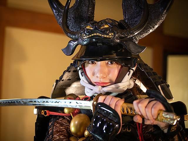 #62 甲冑:本多忠勝/美女:近藤真琴