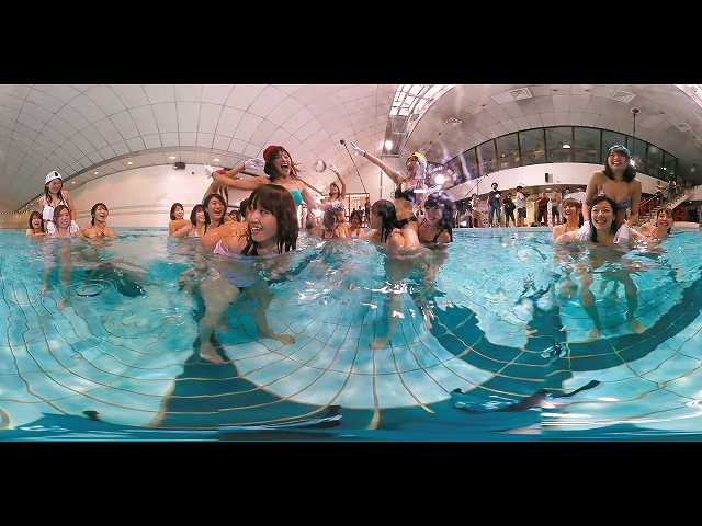 360°まる見え!VRアイドル水泳大会 Vol.1
