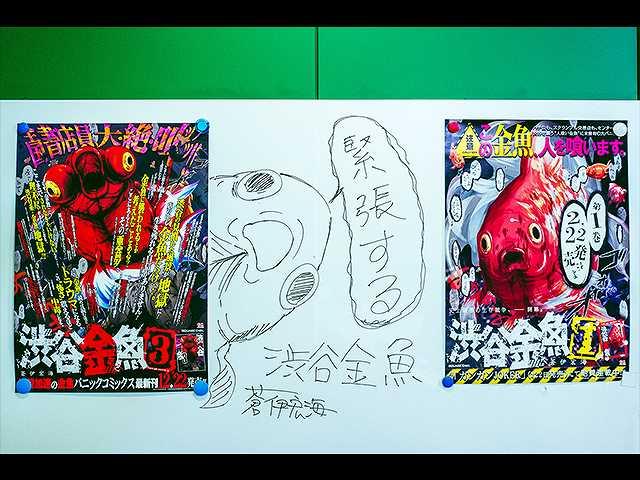 「渋谷金魚」蒼伊宏海先生