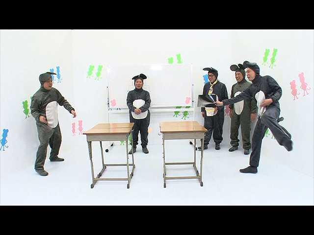 #6 ねずみ界で大流行!「したじきピンポン」