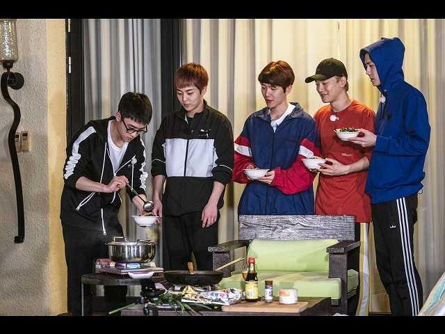 #6 (字幕版)EXO 対 スタッフのごちそう争奪戦