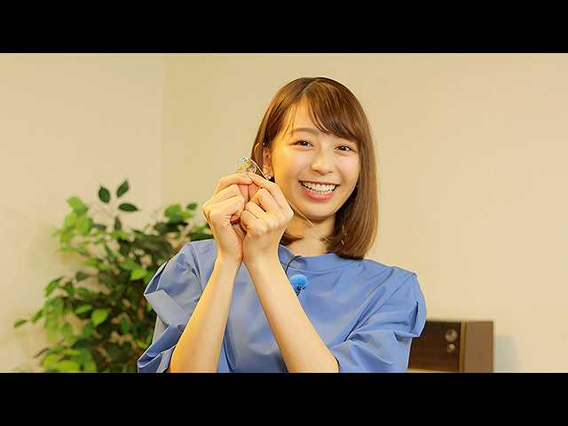 #14 小室瑛莉子アナ、廃棄花でネックレス作りを体感!