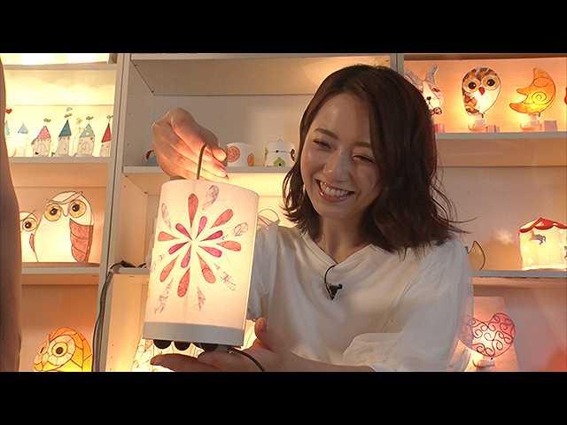 #6 内田嶺衣奈アナ、手作りランタンを体感!