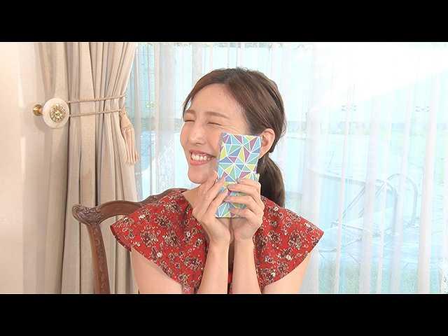 #9 小澤陽子アナ、古紙袋でスマホケース作りを体感!