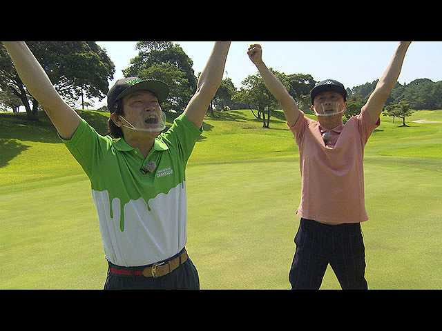 蛍原・河本の2人がゴルフにボケに宮崎で大暴れ!?