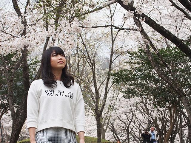 #10 桜咲き誇るかやぶきの里