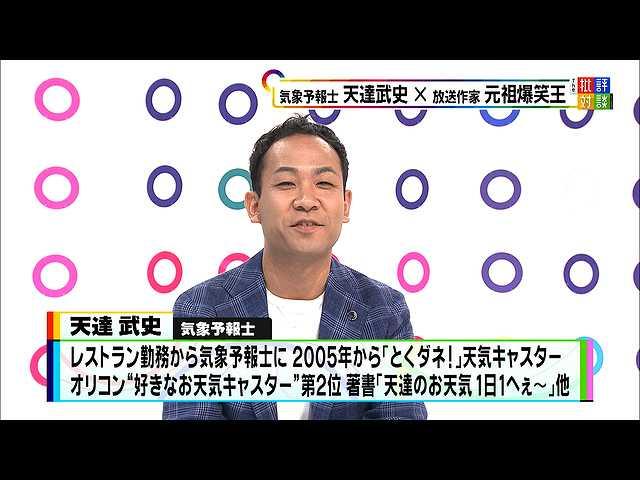"""2019年6月29日放送「今年の夏の暑さは? 最新""""アマタ…"""