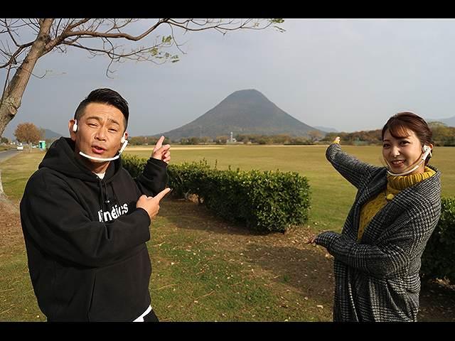 遠藤章造さんと香川・飯野山周辺でお宝探し
