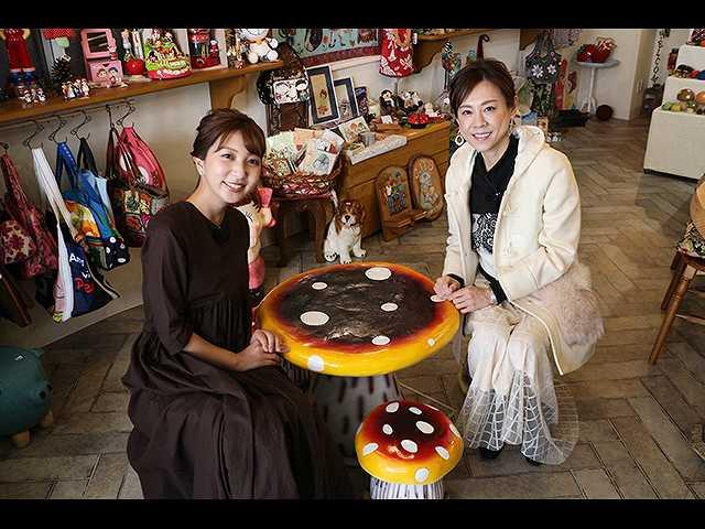 高橋真麻さんと高松市中央公園周辺を探索!