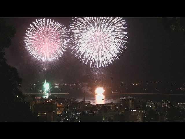 #7 「はなび」(鹿児島)かこしま錦江湾サマーナイト…