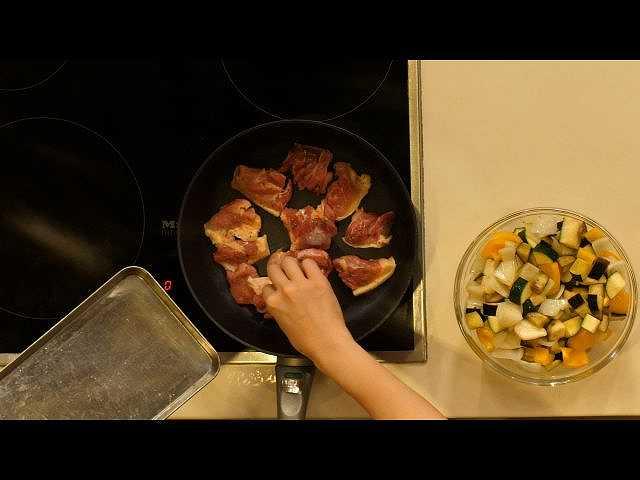 比内地鶏ラタトゥイユ煮込み
