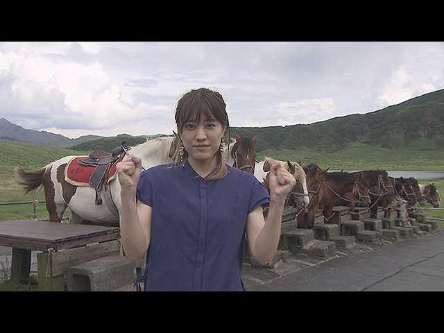 福田沙紀が故郷・熊本で徹底取材