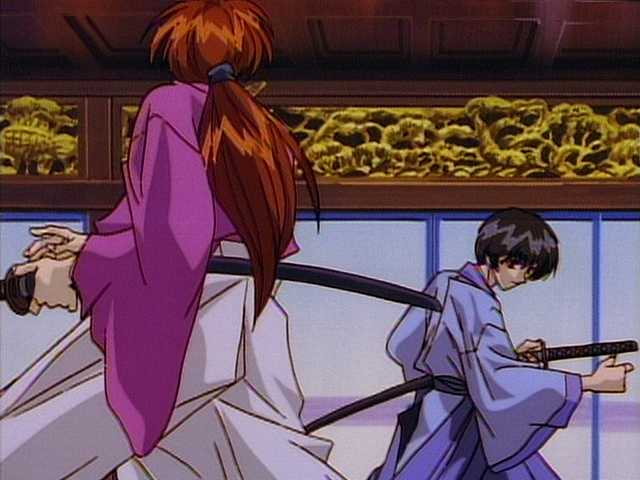 第三十七幕 衝撃!折れた逆刃刀・天剣の宗次郎対剣心