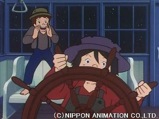 第8話 あこがれの蒸気船