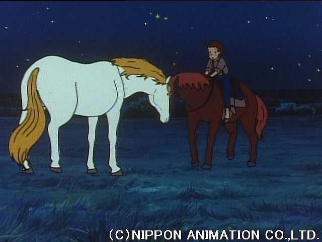 第43話 白い馬を見た