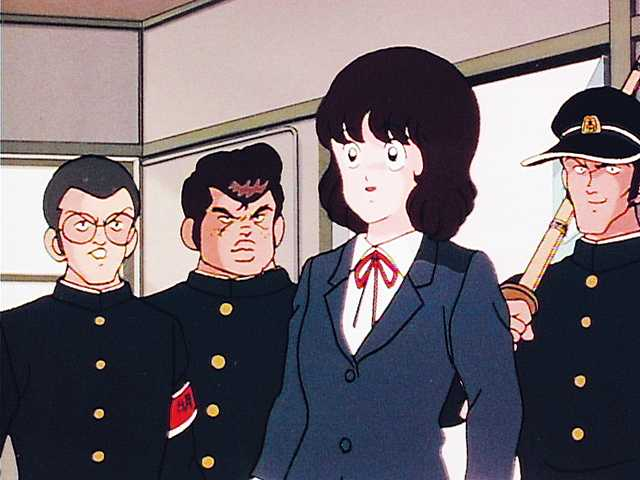 #03 入学式大荒れ! でてきたぞ影の応援団!!