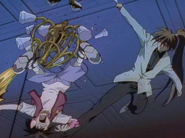 第11話 「鋼金暗器!五つの刃!!」
