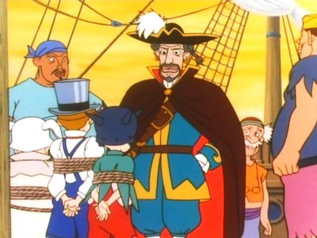 第4話 登場!時計ワニはフック船長の友だち?