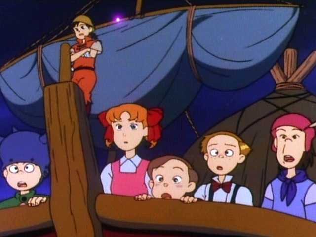 第30話 浮上開始!フックの空飛ぶ海賊船