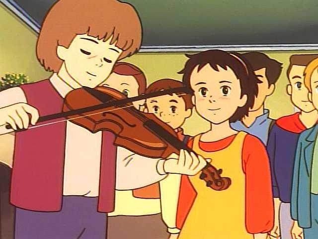 第5話 小さなバイオリン弾き