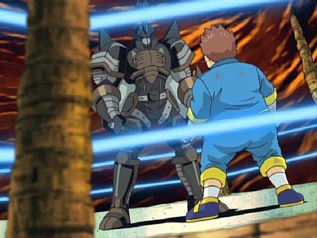 第24話 対決ボルケーモン! 純平、過去との激闘