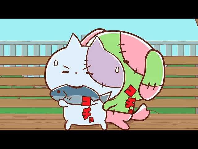 第23話~第32話 「エサを守る!ゾンビ猫」 他