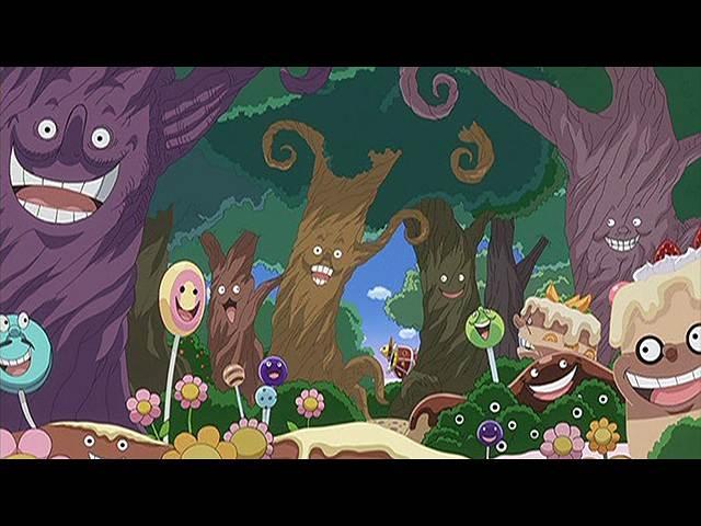 #792 マムの刺客 ルフィと誘惑の森!