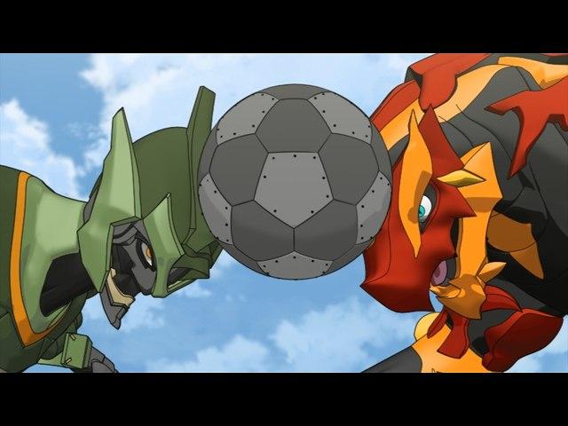 第25話 ウィントンは宇宙人!/爆丸サッカー
