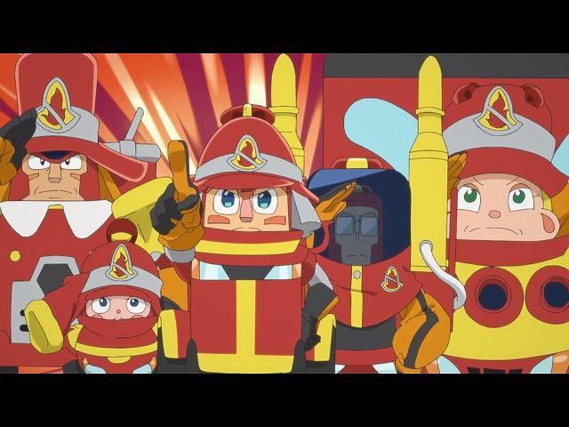 第17話 消防車、だいしゅうごう!